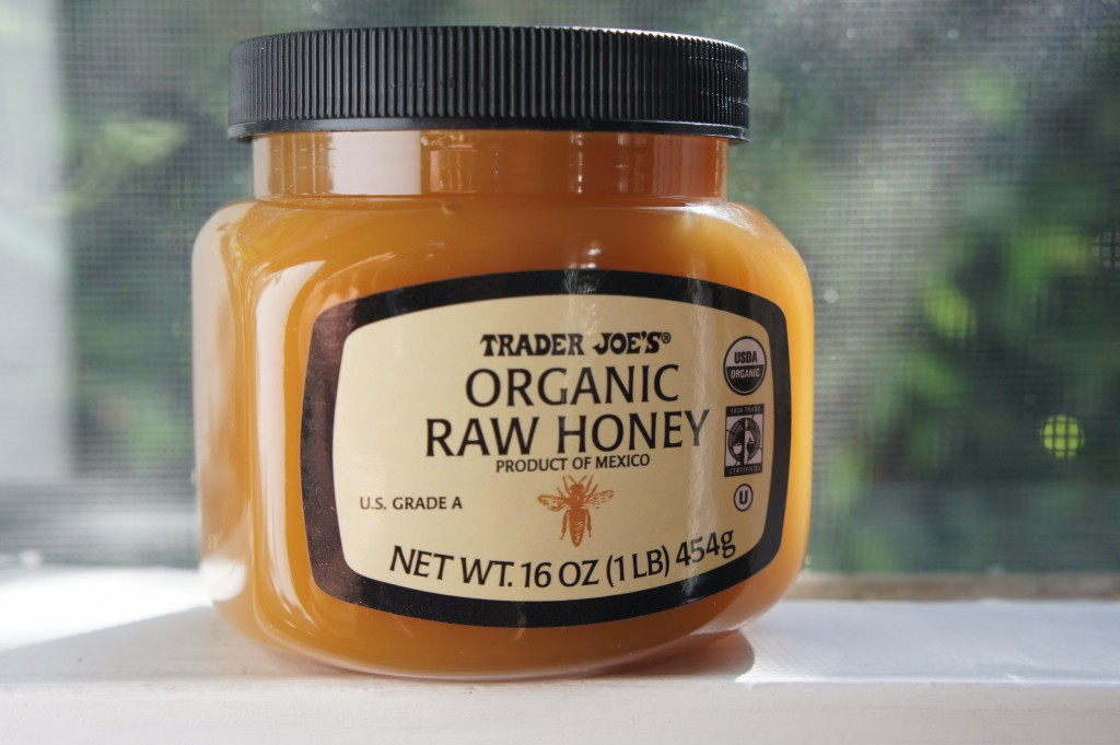 raw honey as an all natural facial cleanser