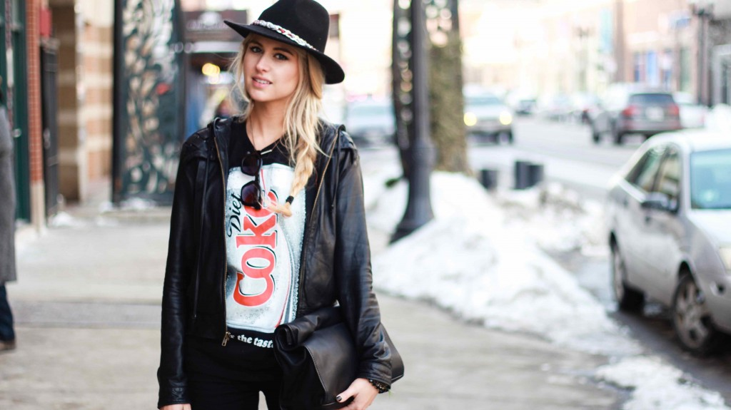 Chicago Fashion Blog Black Jeans 3 2014 1024x575 Black Jeans All Day
